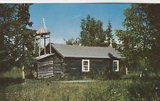 RUSSIAN ORTHODOX CHURCH~ EKLUTNA, ALASKA~POSTCARD