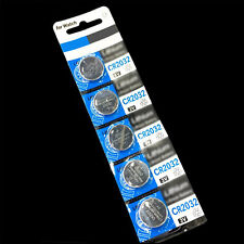New Lots CR2032 5PCS 3 Volt Coin Button Cell Battery Watch Remote Hot Sale WL