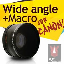 Z72a Adapter Ring + UV Filter + Wide Angle Lens w/ Macro For Canon Powershot G16