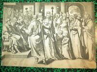 Hans I COLLAERT (1530-1581) GRAVURE XVI SUZANNE JUGES M. de VOS HOLLANDE 1579