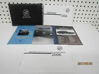 2006 Buick LaCrosse Owners Manual Set      FREE SHIPPING