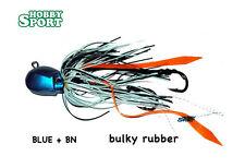 KABURA  JIG BULKY RUBBER 30 GR -  JIG  COL. BLUE - BIANCONERO