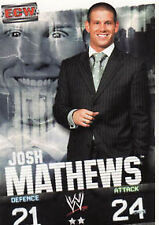WWE Slam Attax Evolution - Josh Mathews ECW Card