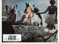 FEDERICO FELLINI AMARCORD 1973 PHOTO ANCIENNE VINTAGE LOBBY CARD N°1