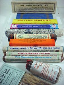 excellent set of TIBETAN INCENSE ~ natural aromas x 20