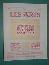 Les Arts revue mensuelle n° 32 Août 1904 Collection GARRAND Musée Florence