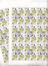 CCCP URSS 26 feuilles  Flore Plantes médicinales  2 k 1985