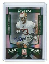 2010 Donruss Elite-Turn of the Century Autographs-Taylor Mays-028/399