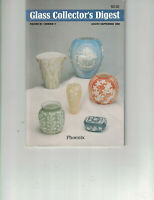 Glass Collector's Digest Vol III, No 2 Aug/Sep 1989-Rose Bowls, Jad-ite,Vaseline