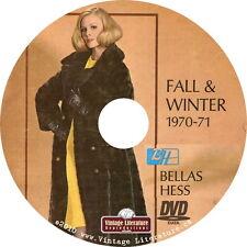 1970 Bellas Hess Vintage Fashion Catalog on DVD