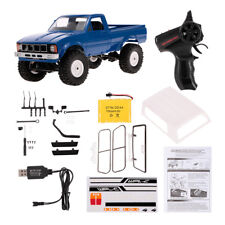 WPL C24 1/16 RC Car Crawler With LED 4wd Pick-up Truck RTR Gift for Kids US K4w2