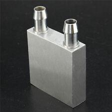 40x40x12mm Aluminum Water Liquid Cooler Block Heatsink For Computer CPU Radiator