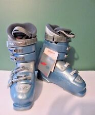 NEW Awesome NORDICA EASY MOVE 10 Women's Blue Ski Boots - Size 26.5 ( 9 - 9 1/2)