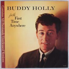 BUDDY HOLLY: For The First Time Anywhere MCA Rock Vinyl LP NM Steve Hoffman