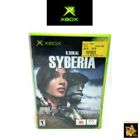 Syberia  (2003)  Microsoft Xbox Game with Case & Manual Tested & Works
