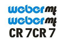 Sticker, aufkleber, decal - WEBER CR 7