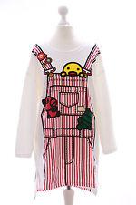 TS-14 Ente Duck Cartoon Lolita Pastel Goth Lang Pullover Sweatshirt Harajuku
