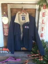 Dark Blue Tan Interior  Burris Logistics XL Light Jacket