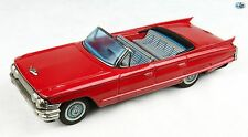Awesome Vintage Japanese BANDAI 1962 Cadillac Convertible Tin Friction Toy
