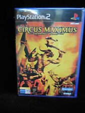Circus Maximus chariot wars playstation2 PAL