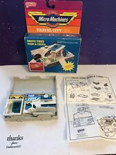 Micro Machines Travel City Drive Thru 100% Complete W/ Instructions & Box