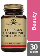 Solgar Collagen Hyaluronic Acid Complex - 30 Tablets