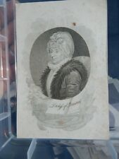 Duchess Augusta of Brunswick-Wolfenbüttel scandalous personal life  1700s engrav