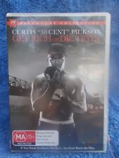GET RICH OR DIE TRYIN CURTIS 50- CENT JACKSON MA R4