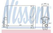 NISSENS Radiador de calefacción VOLVO V70 C70 S80 XC S60 73641
