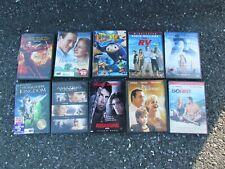 LOT OF 50 DVDS DVD'S DICAPRIO ARNOLD SANDLER BARRYMORE ROBERTS