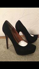 Boutique 9  Black Suede Size 8.5 Shies Pums