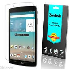 2X ZenTech Clear Screen Protector Guard Shield Armor Saver For LG G Pad F8.0