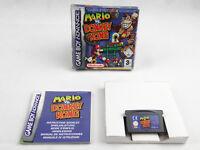 Mario Vs Donkey Kong Nintendo Game Boy Advance Boxed PAL