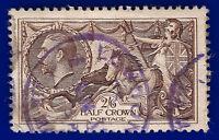 1934 SG450 2s6d Chocolate-Brown N73(1) G/FU London Airmail CDS cv£40 adgm