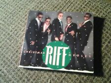 RIFF - CHRISTMAS MEDLEY w/ACCAPELLA VERSION, RARE CD PROMO SINGLE, 1991 OOP