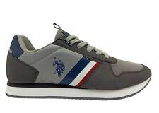 Scarpe uomo US Polo 4115 sneakers casual sportive basse comode alla moda grigie