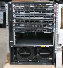 Cisco WS-C6509-E w/WS-X6908-10G-2T, VS-SUP2T-10G ,2 x WS-CAC-6000W PSU -1YrWty