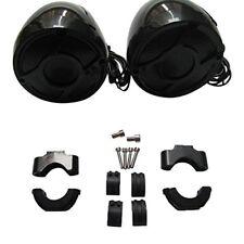 Motorcycle Handlebar Waterproof Stereo 600W Speaker System Harley Honda Kawasaki