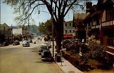 Westport Amerika USA Connecticut AK 1963 State Street Straße Oldtimer Autos Cars