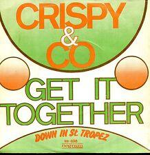 7inch CRISPY & CO get it together HOLLAND 1975 EX FUNKY JAZZ