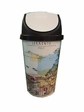25L SWING BIN, KITCHEN BIN,  RETRO, VINTAGE STYLE - VENICE DESIGN SHABBY CHIC