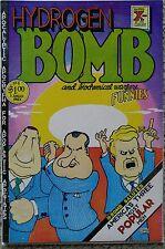 HYDROGEN BOMB & BIOCHEMICAL WARFARE FUNNIES #1 1ST PRINT 1970 VF/NM 9.0 RIP OFF