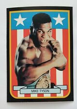 🔥 1989 Mike Tyson Living Legends-American Flag-Stars Stripes Broder Card RC 🔥