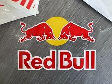 "RED BULL ATHLETE STICKER  (1) DECAL 5"" x 7"" - RARE - SKATE SURF SNOW - HAT"