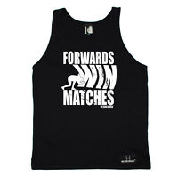 Rugby Vest Funny Novelty Singlet Jersey Top - Forwards Win Matches