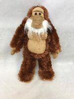 "Animal Planet 12"" Plush Abominable Bigfoot Sasquatch stuffed Brown Tan"
