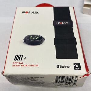 Polar OH1+ Optical Heart Rate Sensor, Bluetooth/ANT+, Black