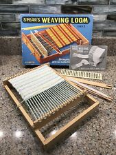 New ListingVtg Spear's Weaving Loom Size 2 with Instruction Book/Patterns Made in England