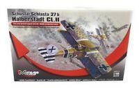 Mirage Hobby Modellbausatz 1:48 Flugzeug Schusta Schlasta Halberstadt Serie 13