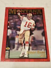 1995 Collector's Choice Joe Montana Chronicles #Jm2 49ers Super Bowl Xvi